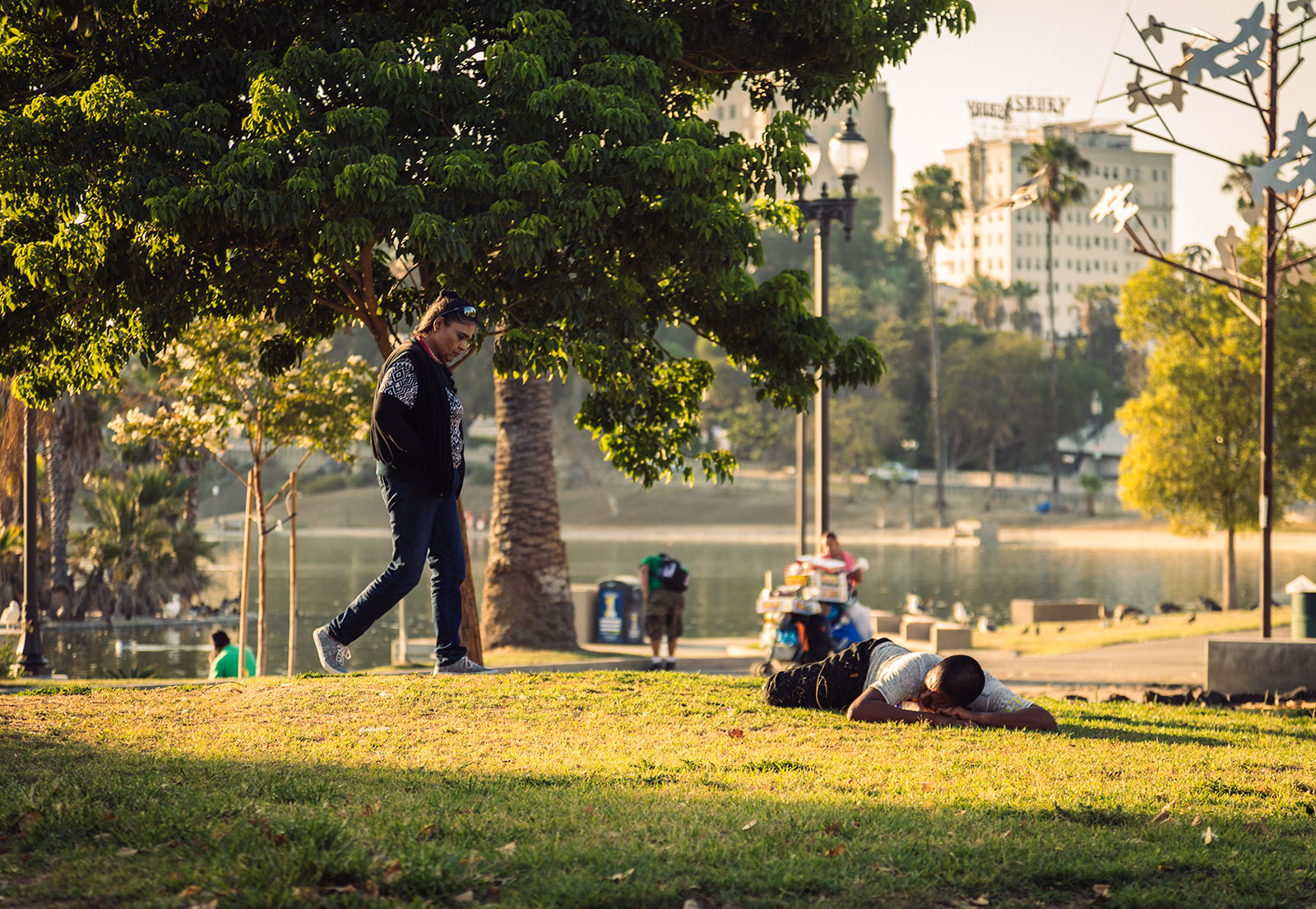 Echo Park on a Sunday Afternoon