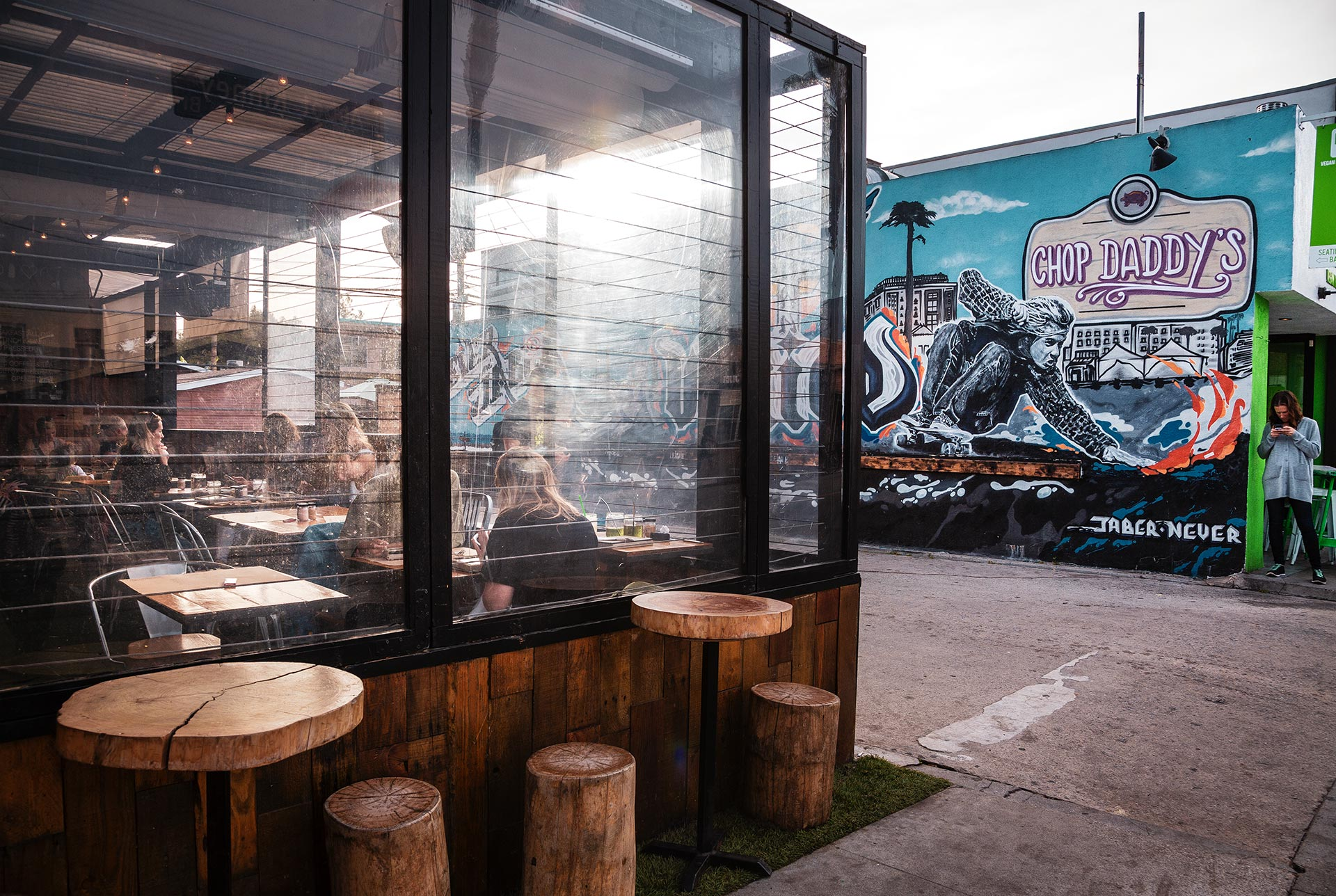 Abbot Kinney Murals and Coffee Shop