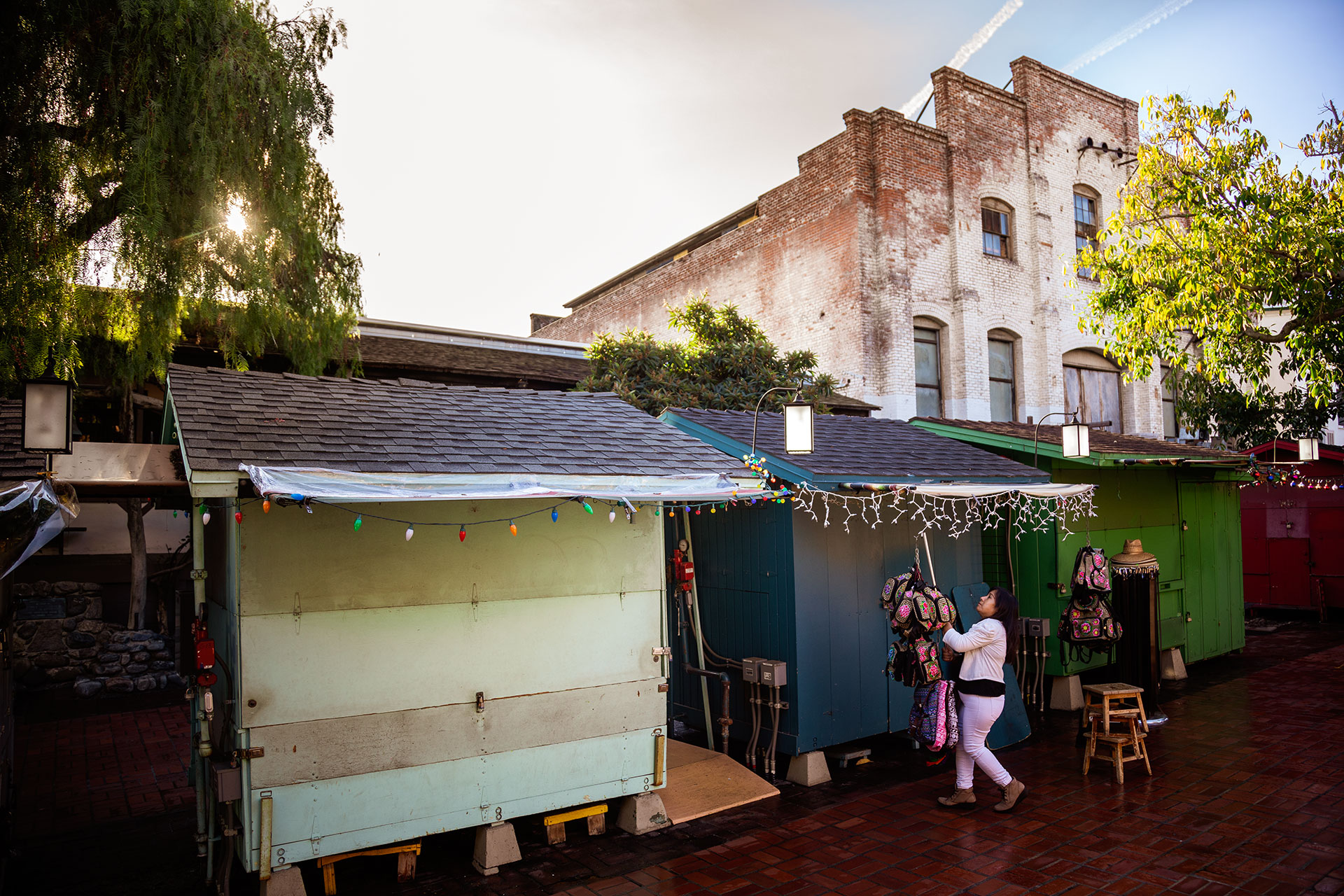 Olvera Street Shop Opening on Sunday Morning
